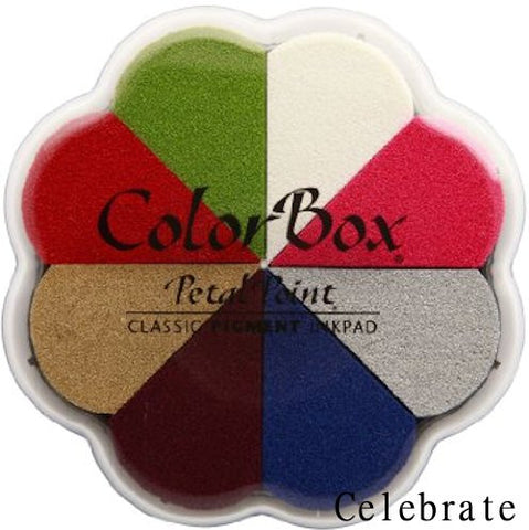 Cojines de tinta para sellos / Petal Point Celebrate Pigment Ink pad - Hobbees