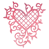 Suaje de Corte de corazon enrejado / Lattice Heart Dies - Hobbees - 1