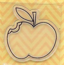 Apple Acrylic Stamp / Sello de Polímero Manzana
