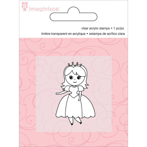 Clear Acrylic Stamp / Sello de Polímero Princess - Hobbees