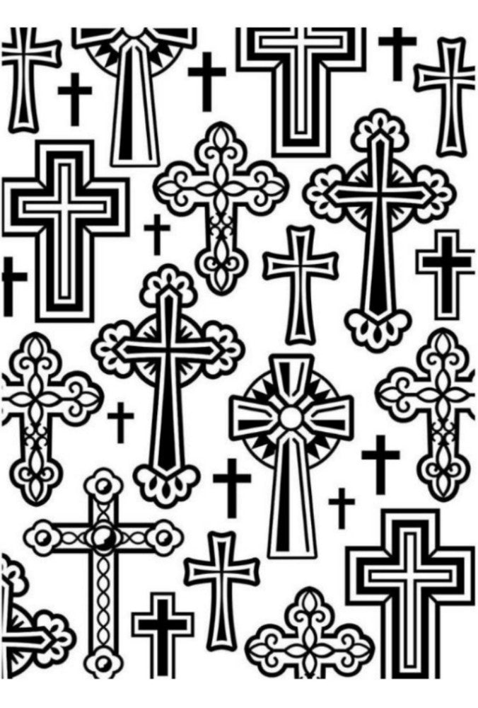 Crosses Embossing / Folder de Grabado Cruces - Hobbees