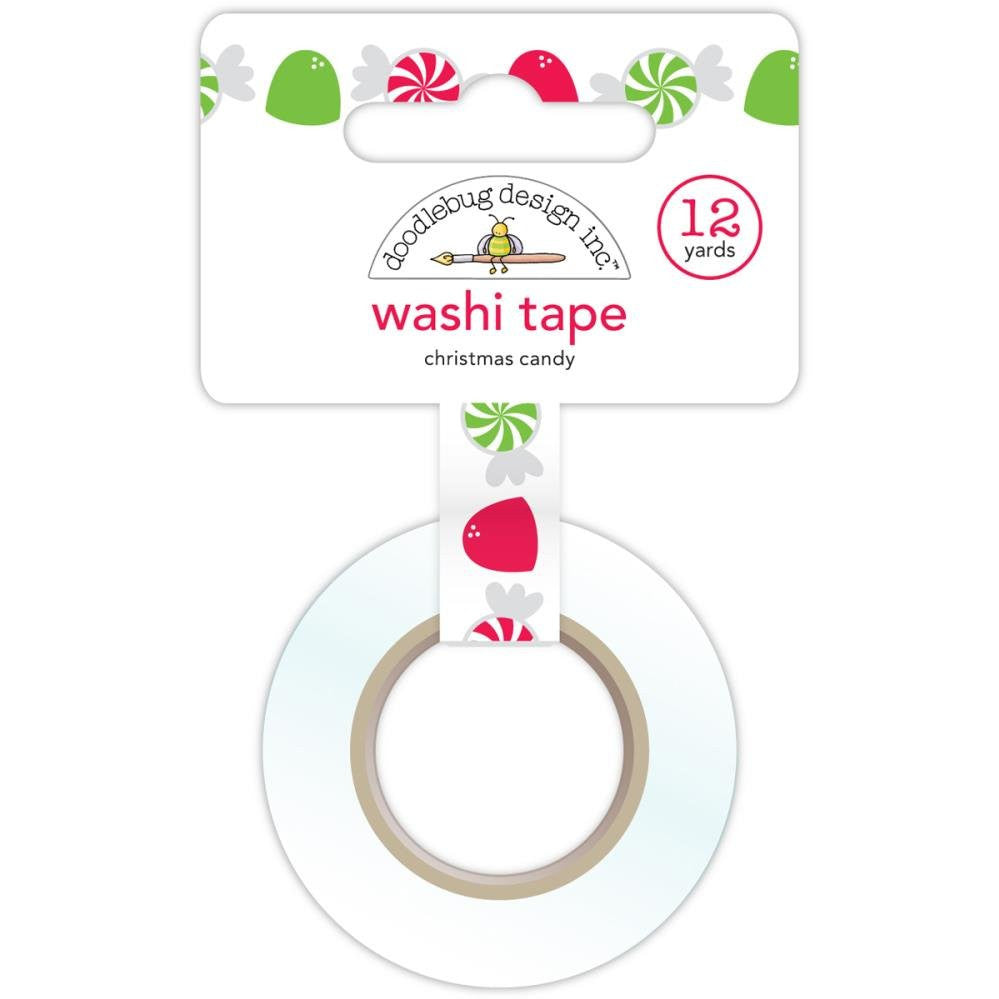Cinta Adhesiva / Washi Tape Christmas Candy - Hobbees