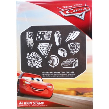 Disney Cars 3 Stamp Set / Sellos de Cars