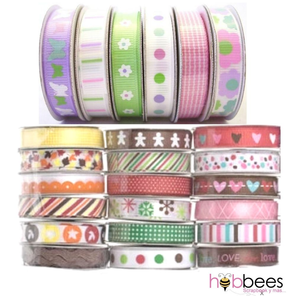 Premium Ribbon Set /  24 Listones Decorados