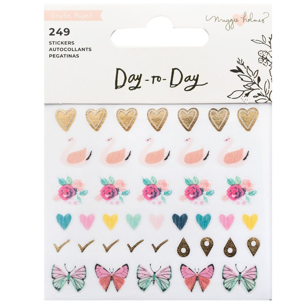 Day-To-Day Planner Mini Sticker Book 3 / Estampas para Agendas