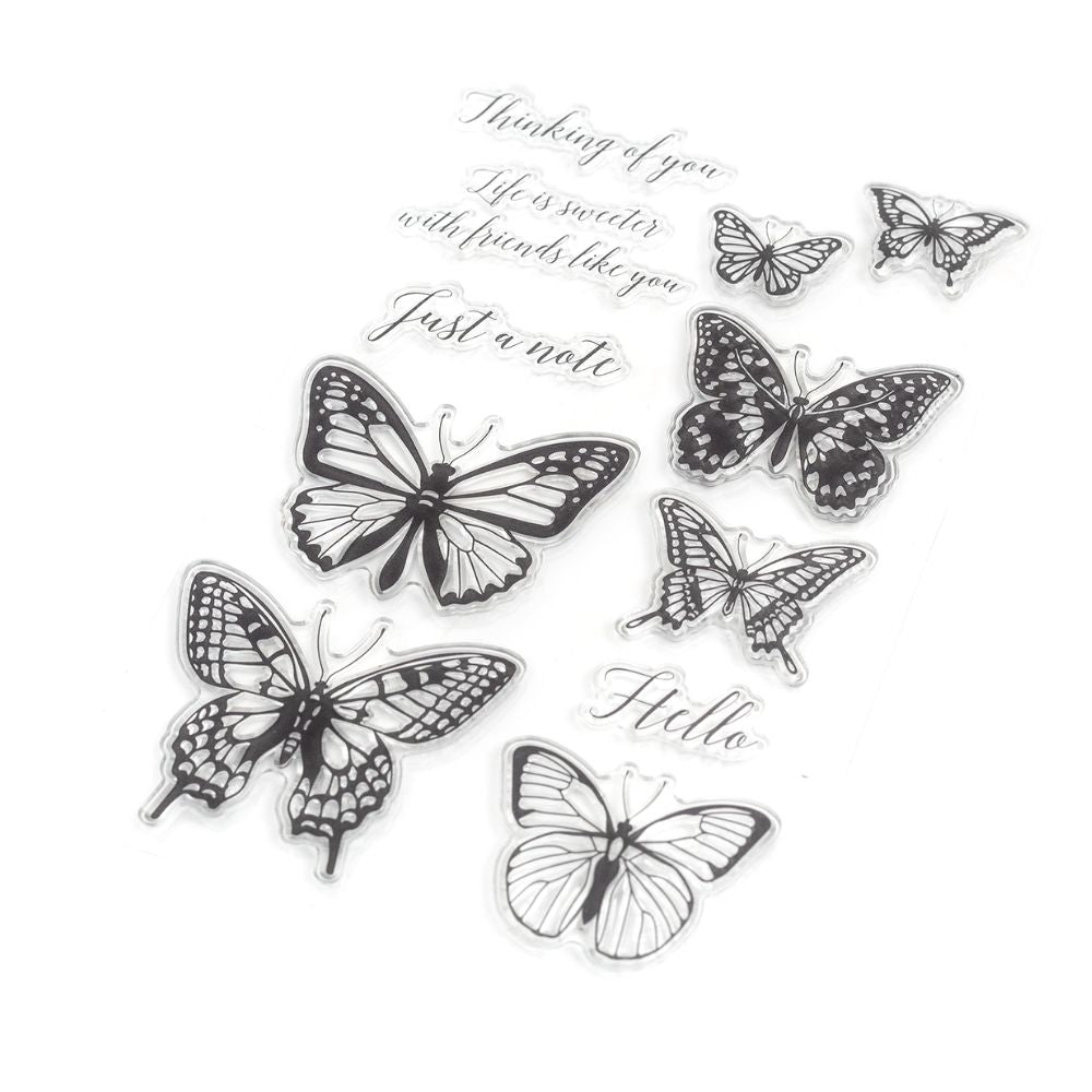 Beautiful Butterfly Stamps / Sellos de Mariposas