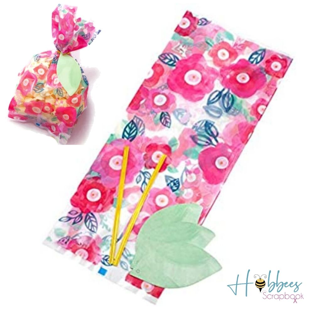 Floral Treat Bag Kit / Kit de Bolsas Florales