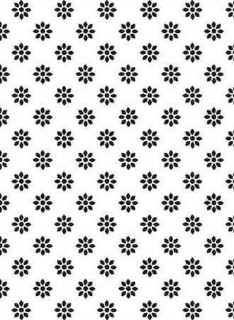 XL Embossing Folder Flower / Folder de Grabado Flor - Hobbees - 1