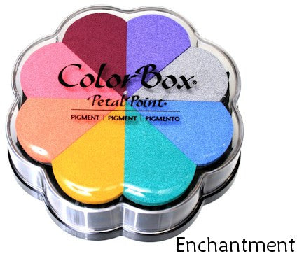 Cojines de tinta para sellos / Petal Point Enchantment Pigment Ink pad - Hobbees