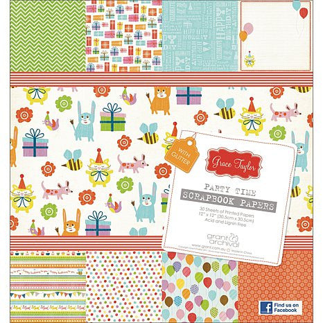 Block de Papel Fiesta / Party Time - Hobbees