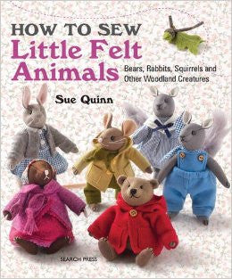 How To Sew Little Felt Animals Book / Libro Como Coser Pequeños Animales de Fieltro