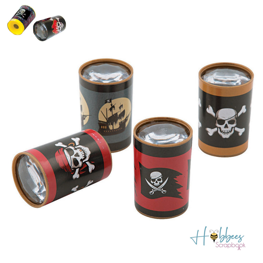 Mini Pirate Prisms / 12 Prismas de Piratas Mini
