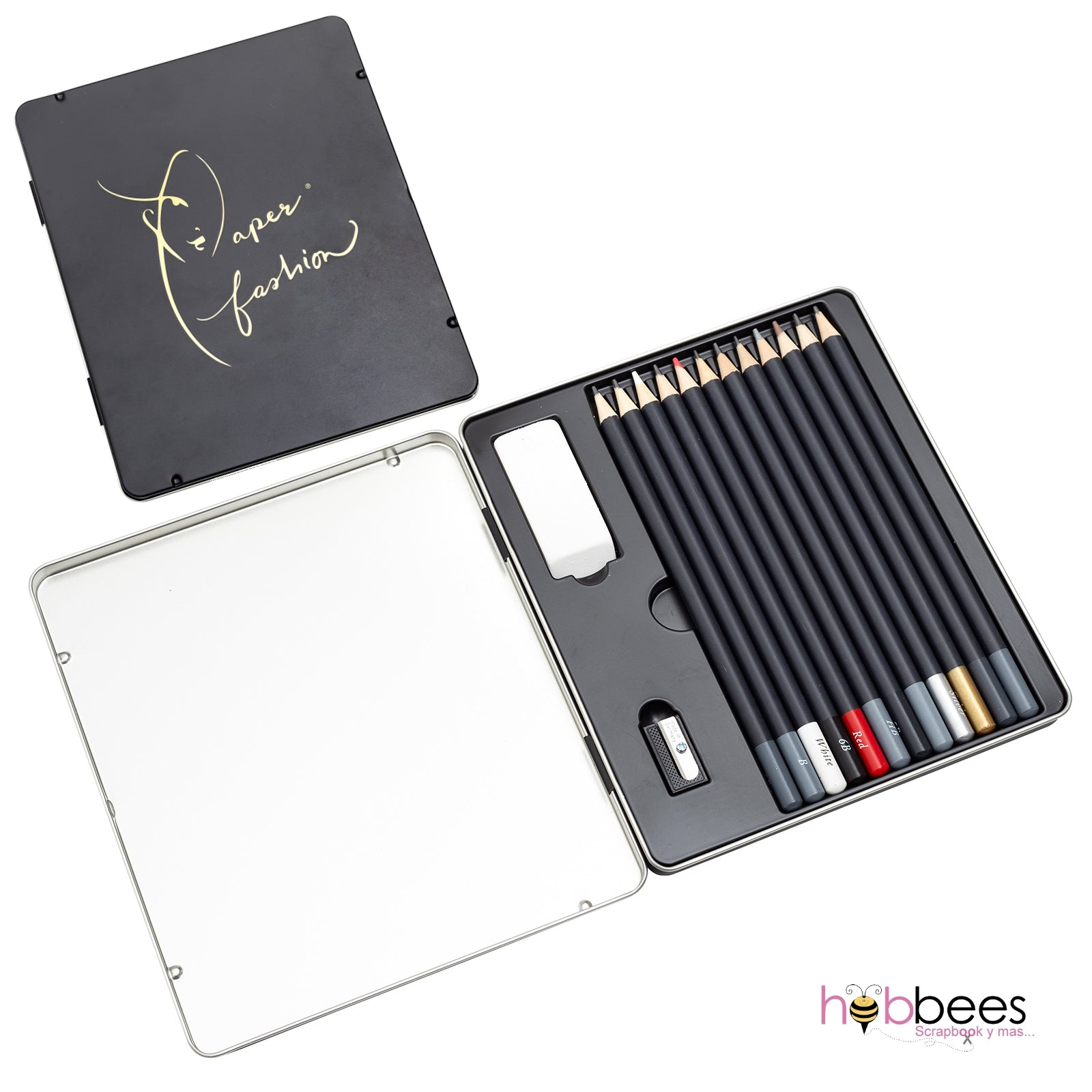 Paper Fashion Pencil Kit / Set de Lapices
