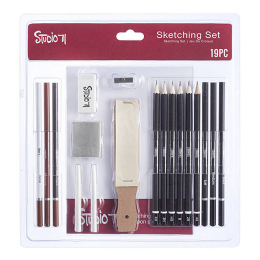 Studio 71 Sketching Art Set / Kit de Lápices Para Dibujo