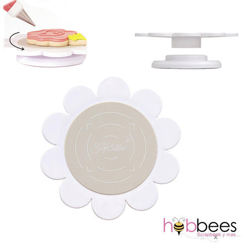 Cookie Turntable With Silicone Mat / Base Giratoria para Galletas