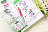 Memory Planner Clear Stamps Fresh Start Food / Sellos de Comida para Agenda