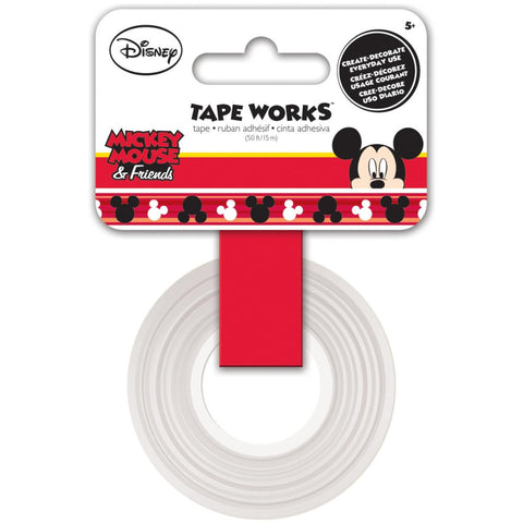 Cinta Adhesiva / Washi Tape Mickey Mouse - Hobbees