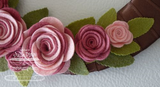 Suaje de Corte de Rositas / Mini Rolled Rose die - Hobbees - 2