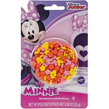 Minnie Mouse Sugar Sprinkles / Granillo de Azúcar Decorativo
