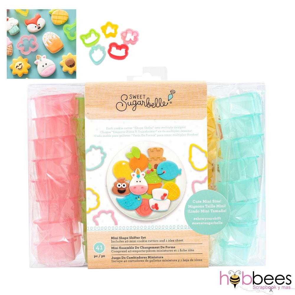 Mini Shape Shifter Set / Set 41pz. Cortadores de Galletas Cambiables
