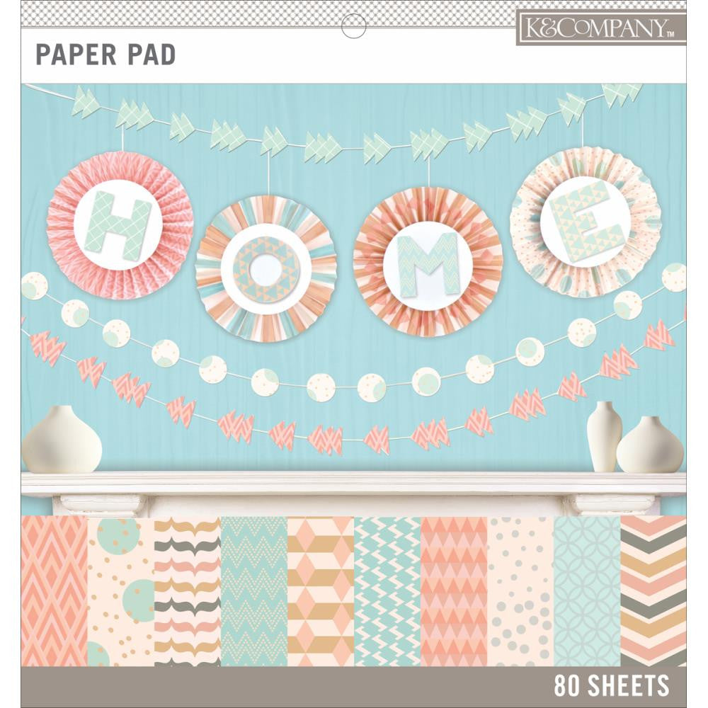 Block de Papel Colores Pastel / Pastels Color Basics Paper Pad - Hobbees