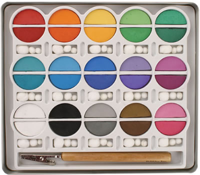 Chalk Set Basic Brights / Set de Gises Colores Brillantes