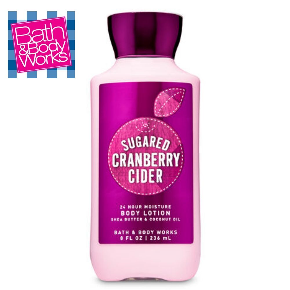 Sugared Cranberry Cider Body Lotion / Loción Corporal Humectante