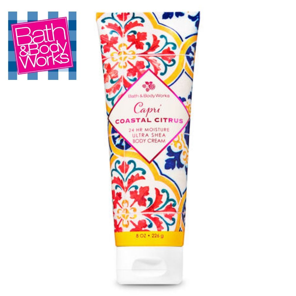 Capri Coastal Citrus Ultra Shea Body Cream / Crema Humectante Corporal