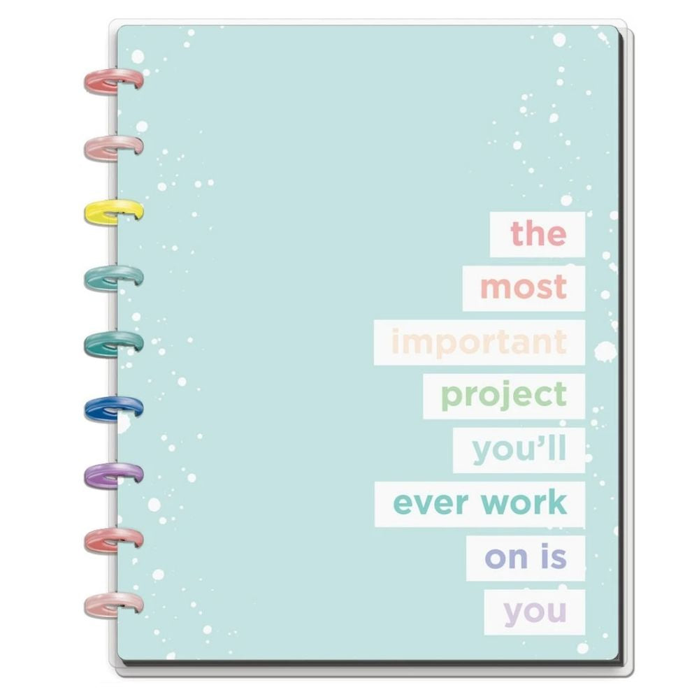Happy Planner Wellness Medium Notebook / Planificador Mediano Bienestar