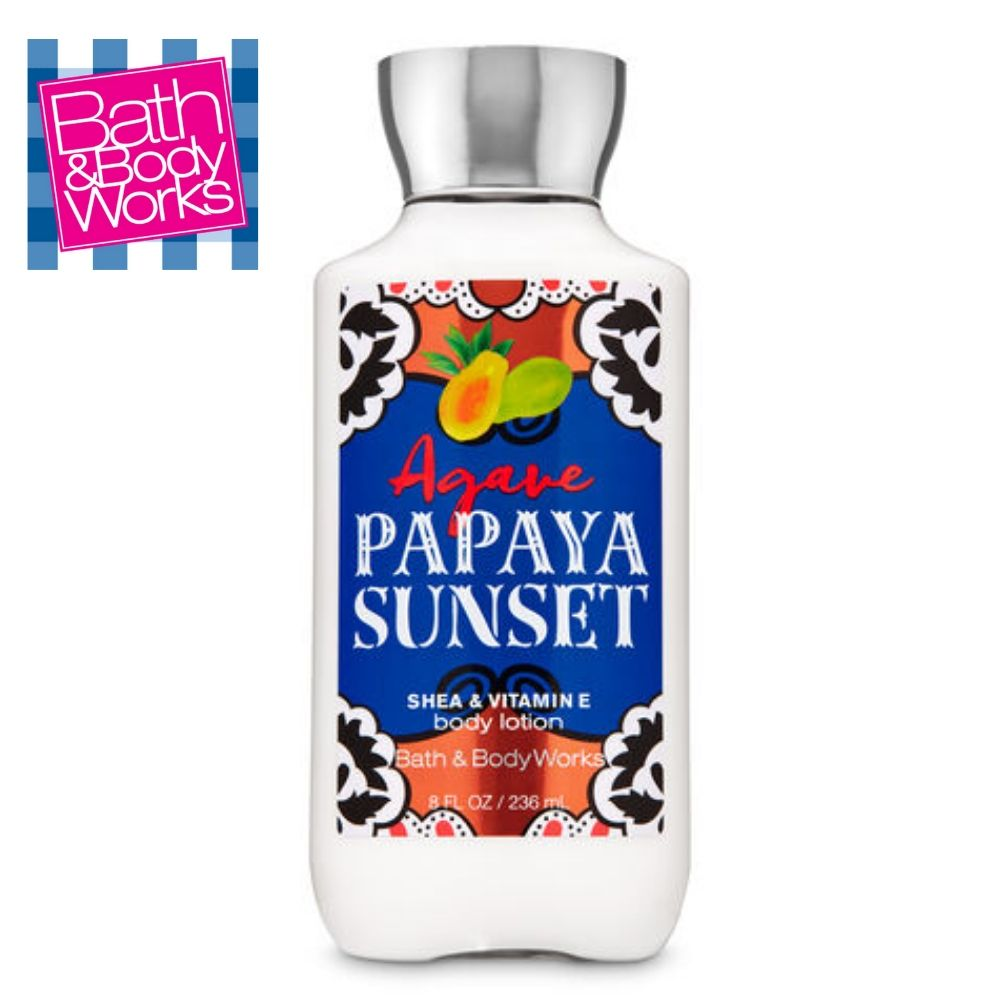 Agave Papaya Sunset Body Lotion / Loción Corporal Humectante