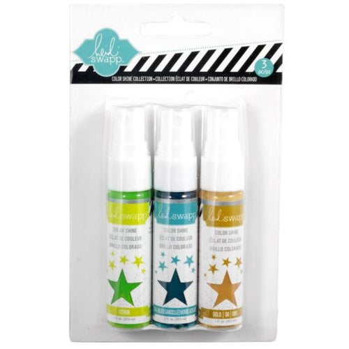 Color Shine Spritz Iridescent  / Tintas en Spray Iridescentes - Hobbees