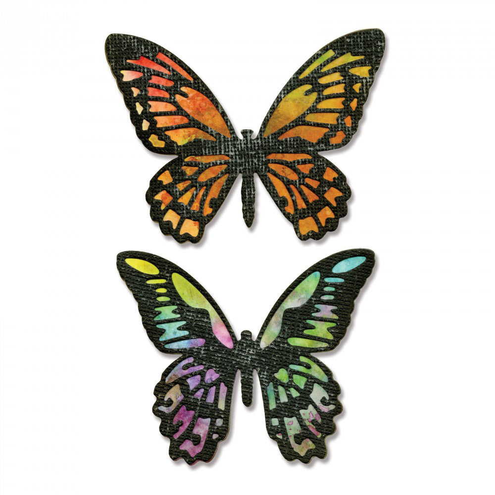 Detailed Butterflies Die / Suaje de Mariposas con Detalles - Hobbees