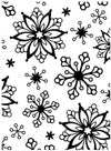Snowflakes Embossing / Folder de Grabado - Hobbees - 1