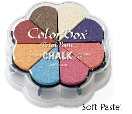 Cojines de tinta para sellos / Petal Point Soft Pastel Chalk Ink pad - Hobbees
