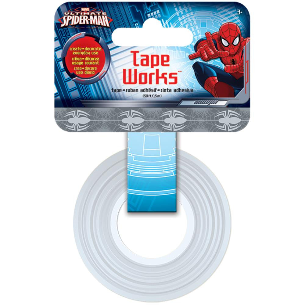 Cinta Adhesiva / Washi Tape Spiderman - Hobbees