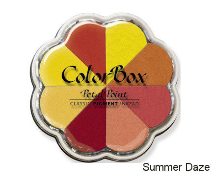 Cojines de tinta para sellos / Petal Point Summer Daze Pigment Ink pad - Hobbees