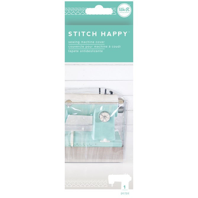 Sewing Machine Cover / Funda para Máquina de coser Stitch Happy