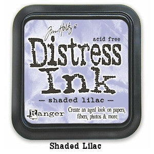 Cojin de tinta para sellos / Distress Shaded Lilac - Hobbees