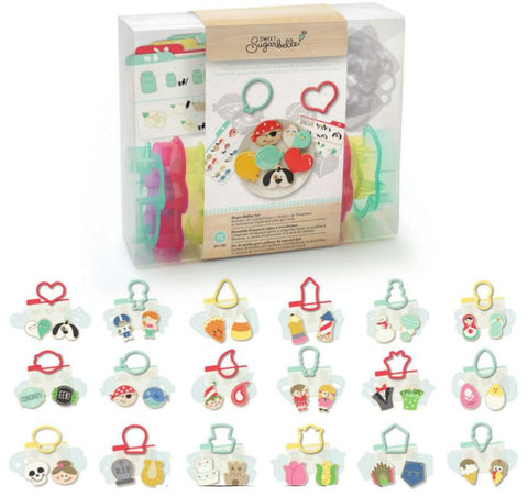 Shape Shifter Cookie Cutter 75 pc Set / Set de Moldes Para Galletas Multiusos