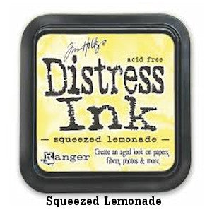 Cojin de tinta para sellos / Distress Squeezed Lemonade - Hobbees