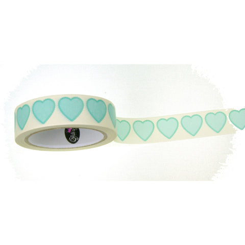 Washi Tape Hearts / Cinta Adhesiva