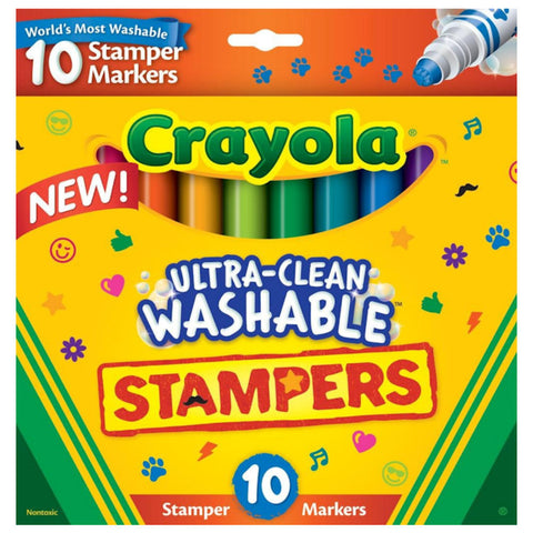 Ultra-clean Washable Stampers / Marcadores Lavables con Sellos
