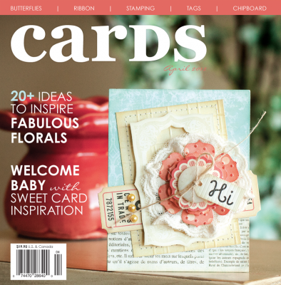 Cricut Cards April 2012 Magazine / Revista de Ideas para Tarjetas - Hobbees