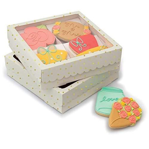 Sweet Sugarbelle Four Cookie Box White /  Caja para 4 Galletas Color Blanca