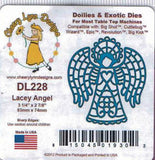 Suaje de Corte de Angel / Lacey Angel Dies - Hobbees - 2