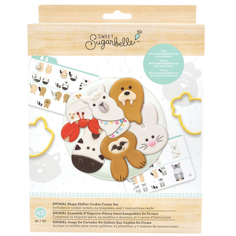 Cookie Cutter Set Animal / Set Cortadores de Galletas Cambiables de Animales