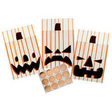 Animal Mascarade Jack O Lantern Treat Bags /  Bolsas para Dulces  Calabaza - Hobbees - 2