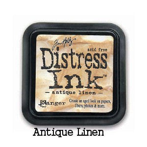 Cojin de tinta para sellos / Distress Antique Linen - Hobbees