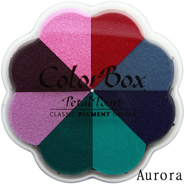 Cojines de tinta para sellos / Petal Point Aurora Pigment Ink pad - Hobbees