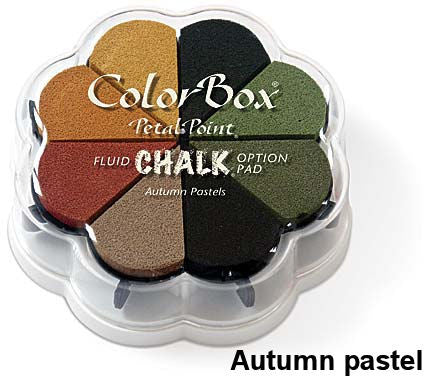 Cojines de tinta para sellos / Petal Point Autumn Pastel Chalk Ink pad - Hobbees